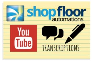 shop floor automations youtube