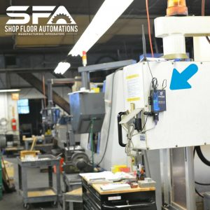 wireless DNC network for CNC machines