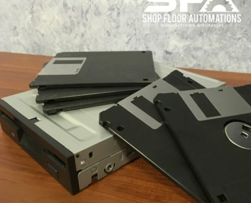 Floppy Disk Replacement for CNC machines