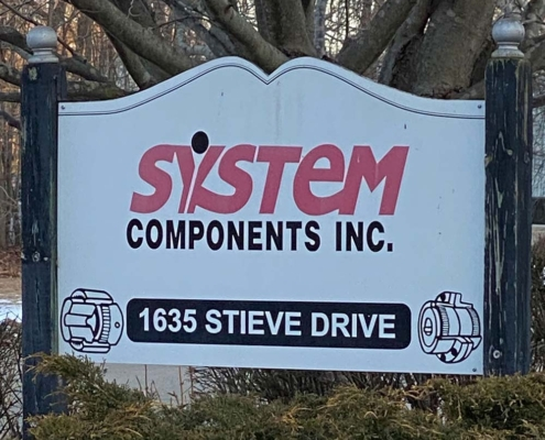 System Components Sign